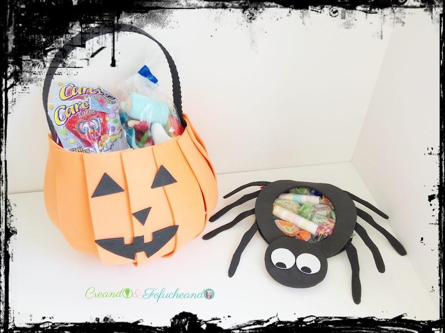 como-hacer-dulceros-de-calabaza-y-araña-para-halloween-en-goma-eva-creandoyfofucheando