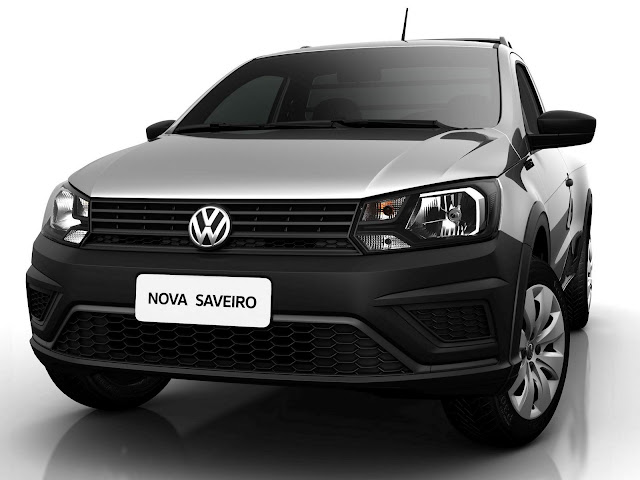 VW Saveiro Robust 2018 Cabine Dupla