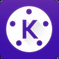 كين ماستر الجديد مهكر  kinemaster 4.13.4 الغامق