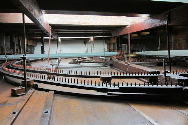 Raderwerk van planetarium Eise Eisinga in Franeker