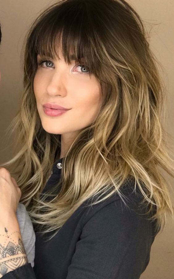 You Need To Know About How To Pair Your Long Hair With Bangs For Your Face