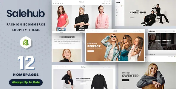 Best Clothing and Fashion Shopify Theme