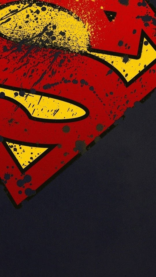 Superman Logo Minimal  Galaxy Note HD Wallpaper