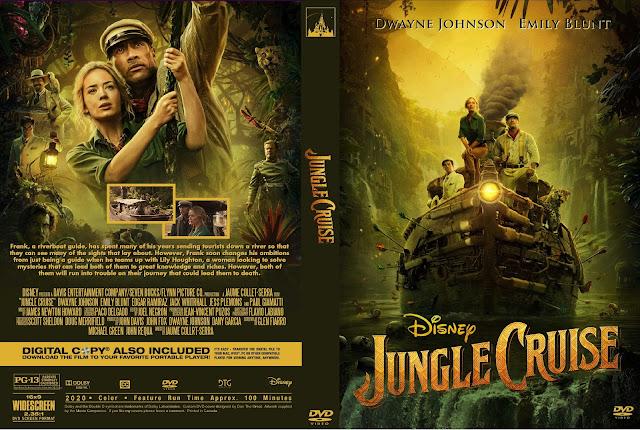Jungle Cruise DVD Cover