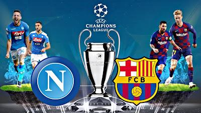 مباراة برشلونة ضد نابولي