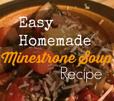easy homemade minestrone soup recipe