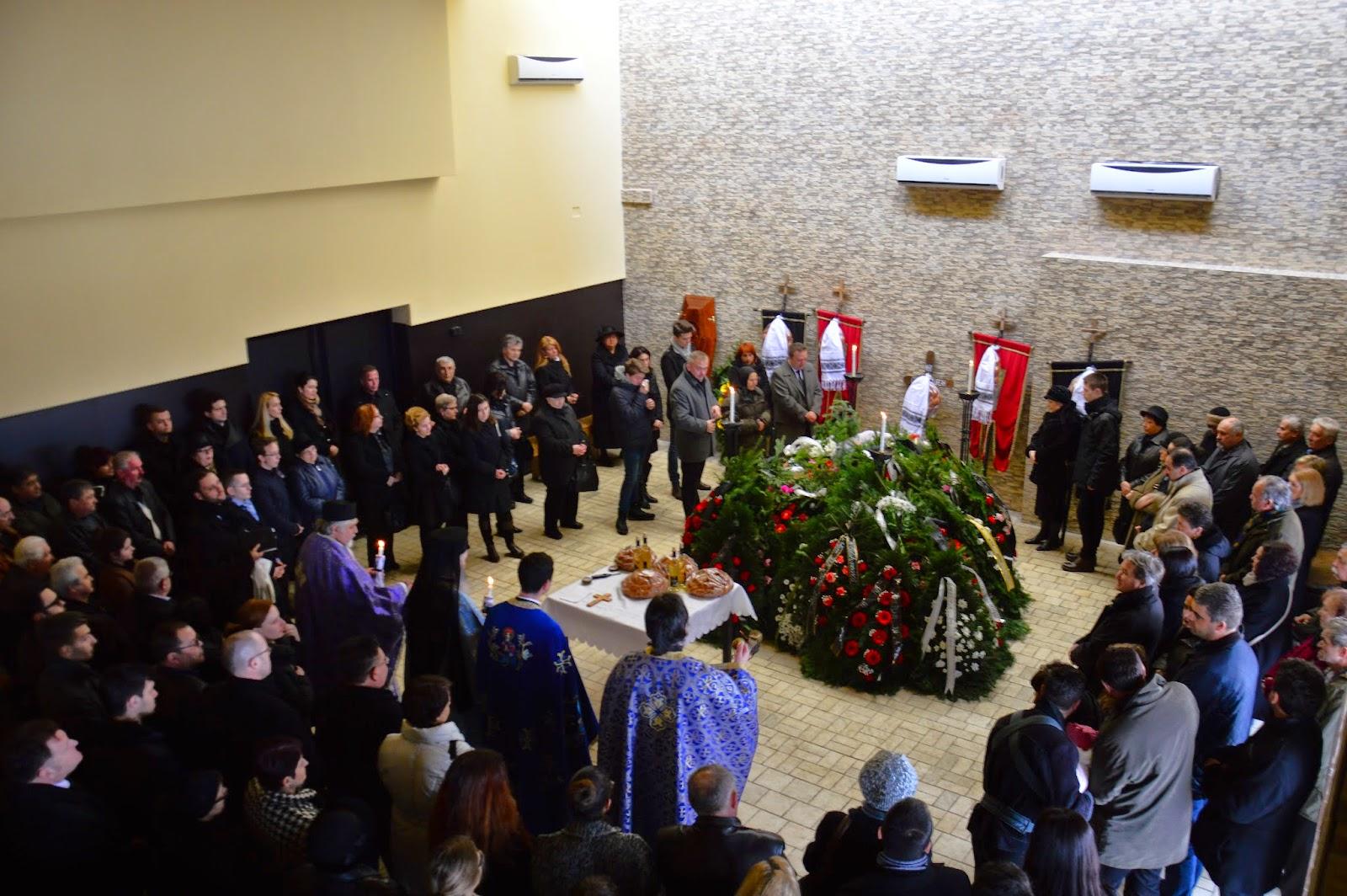 Inmormantarea credinciosului Laurean Gorcea, Cluj-Napoca