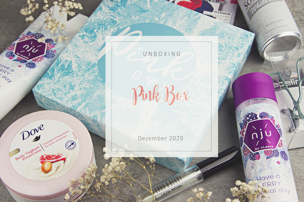 Pink Box - Dezember 2020 - unboxing