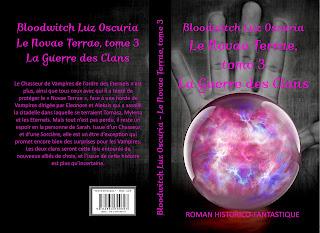 """Couverture de """"Le Novae Terrae, tome 3"""", de Bloodwitch Luz Oscuria"""