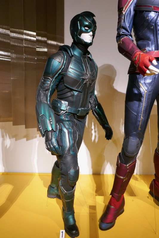 Jude Law Captain Marvel Yon-Rogg film costume