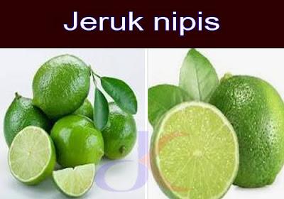 Buah jeruk nipis - Manfaat dan kegunaannya