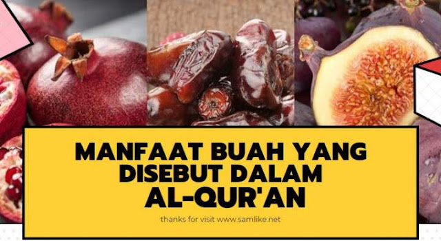 6 Buah Ajaib yang Disebutkan di Dalam Al-Qur'an yang Manfaatnya Perlu Diketahui