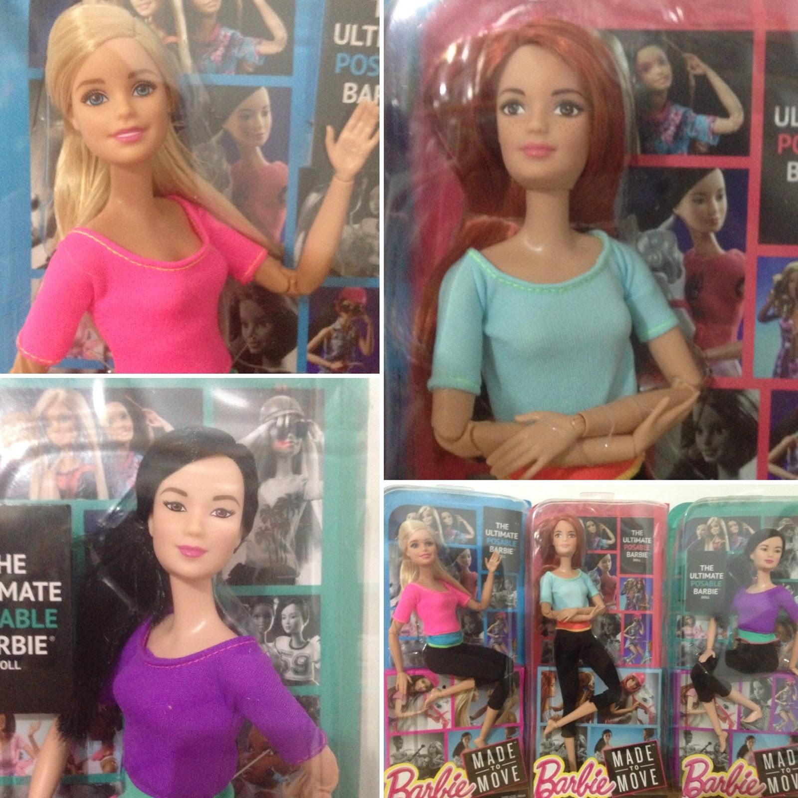 Las Manías de Knena: Mis Made to Move Barbie y un paseo por el ...
