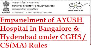 Empanelment+of+Ayush+Hospital