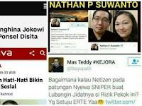 Ibu Sri Ditangkap, Jokowi Ingatkan Hati-Hati Bikin Status di Medsos, Tapi Tak Berlaku Untuk Pendukungnya?