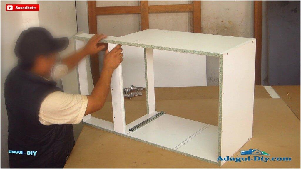 Muebles para la cocina de melamine como hacer pr ctico - Como hacer un mueble de cocina ...