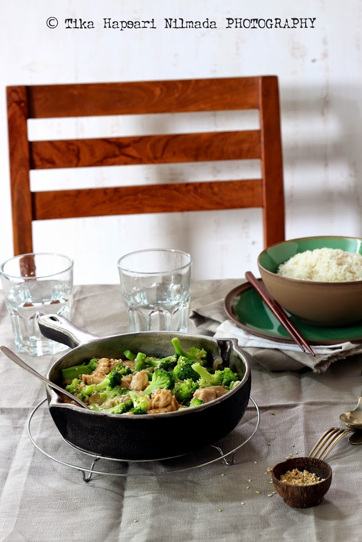 Cooking Chapter Broccoli  Chicken Stir-Fry With Oyster Sauce-5638