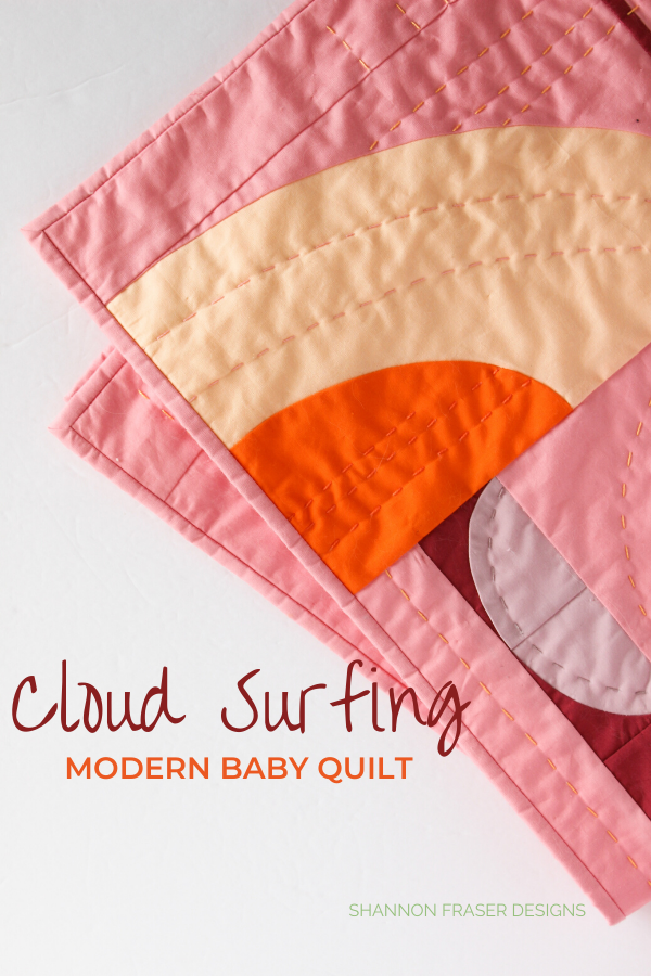 Cloud Surfing Quilt | Honest state of a modern quilter's WIP List | Q1 2020 Finish-a-Long | Shannon Fraser Designs #modernquilter #curvesquilt #modernimprovquilting