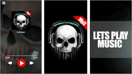 Aplikasi Skull MP3 Player