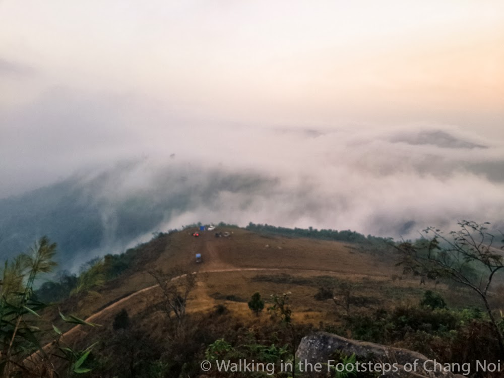 Phu Hin Rong Khla in North-East Thailand