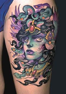 แบบลายสัก Medusa