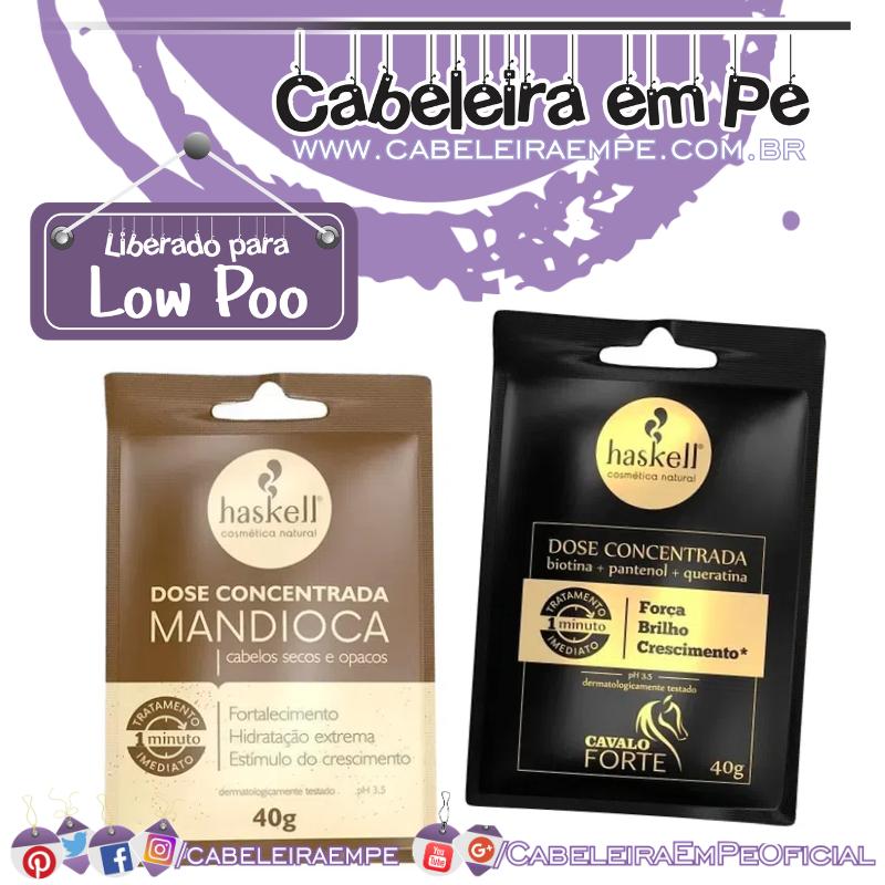 Doses Concentradas Cavalo Forte e Mandioca - Haskell (Low Poo)
