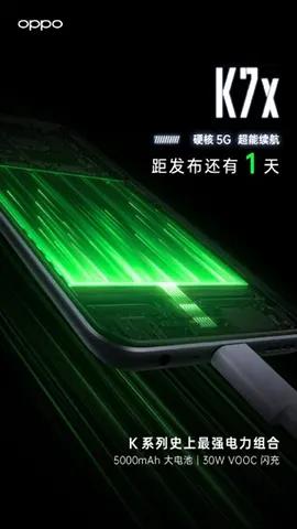 Spesifikasi Kamera & Baterai Oppo K7x Yang Akan Dirilis