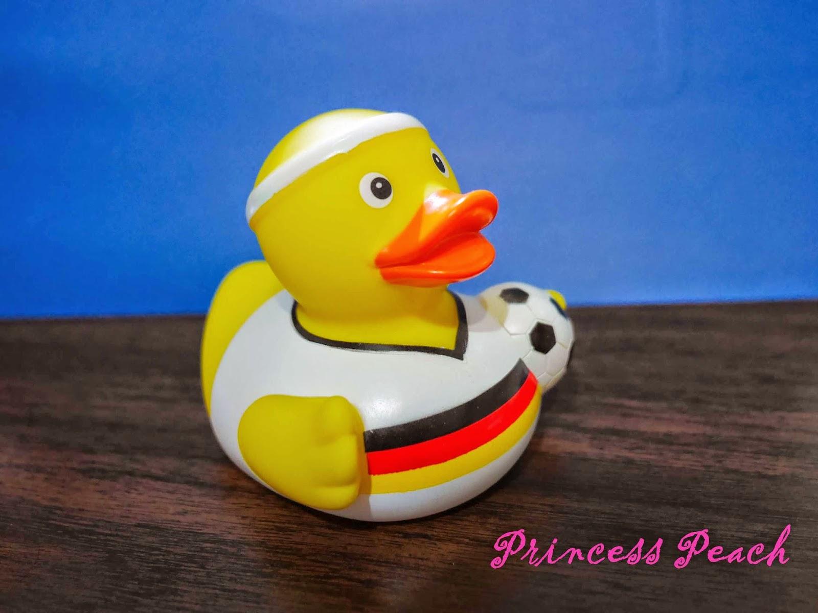 德國足球黃色小鴨