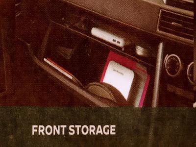 Gambar Front Storage Nissan Livina