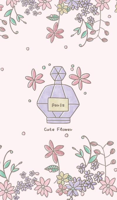 Cute Flowers in Paris