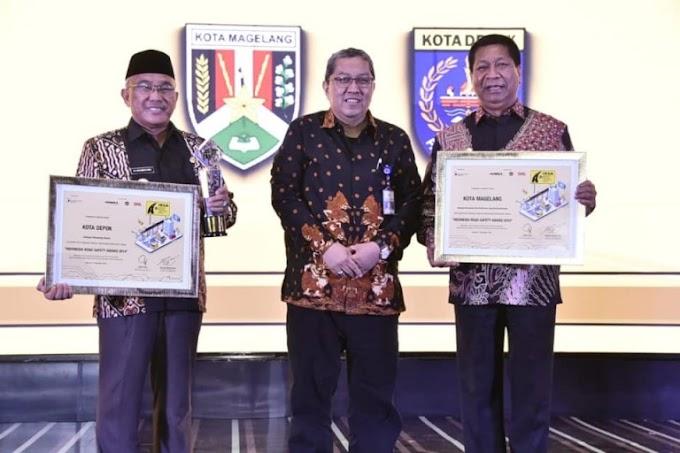 Kota Depok Raih Road Safety Award 2019