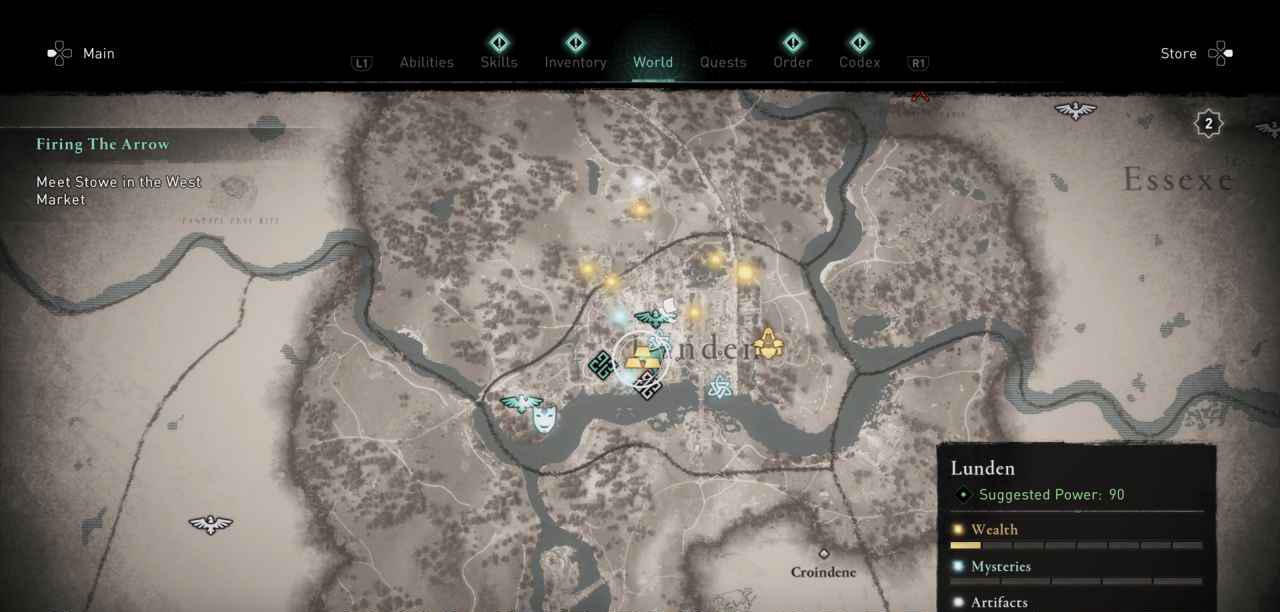 Lunden Ingot 39 Map