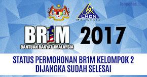 Thumbnail image for BR1M 2017 : Status Permohonan BR1M Kelompok 2 Dijangka Sudah Selesai