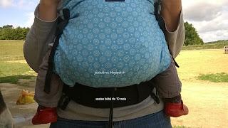 babywearing test avis review babycarrier préformé porte-bébé KIBI kibi porter bambin grand taille réglable portage avis review test