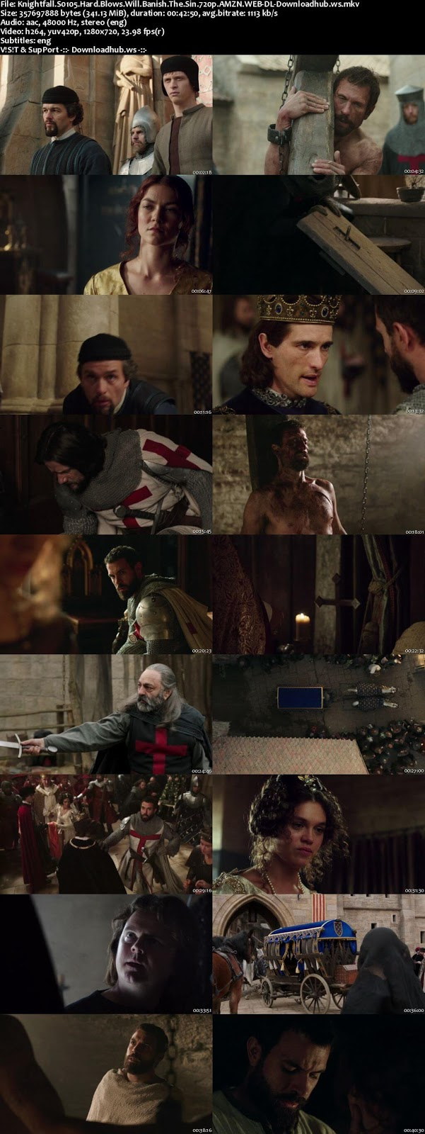 Knightfall S01E05 340MB WEB-DL 720ap ESubs