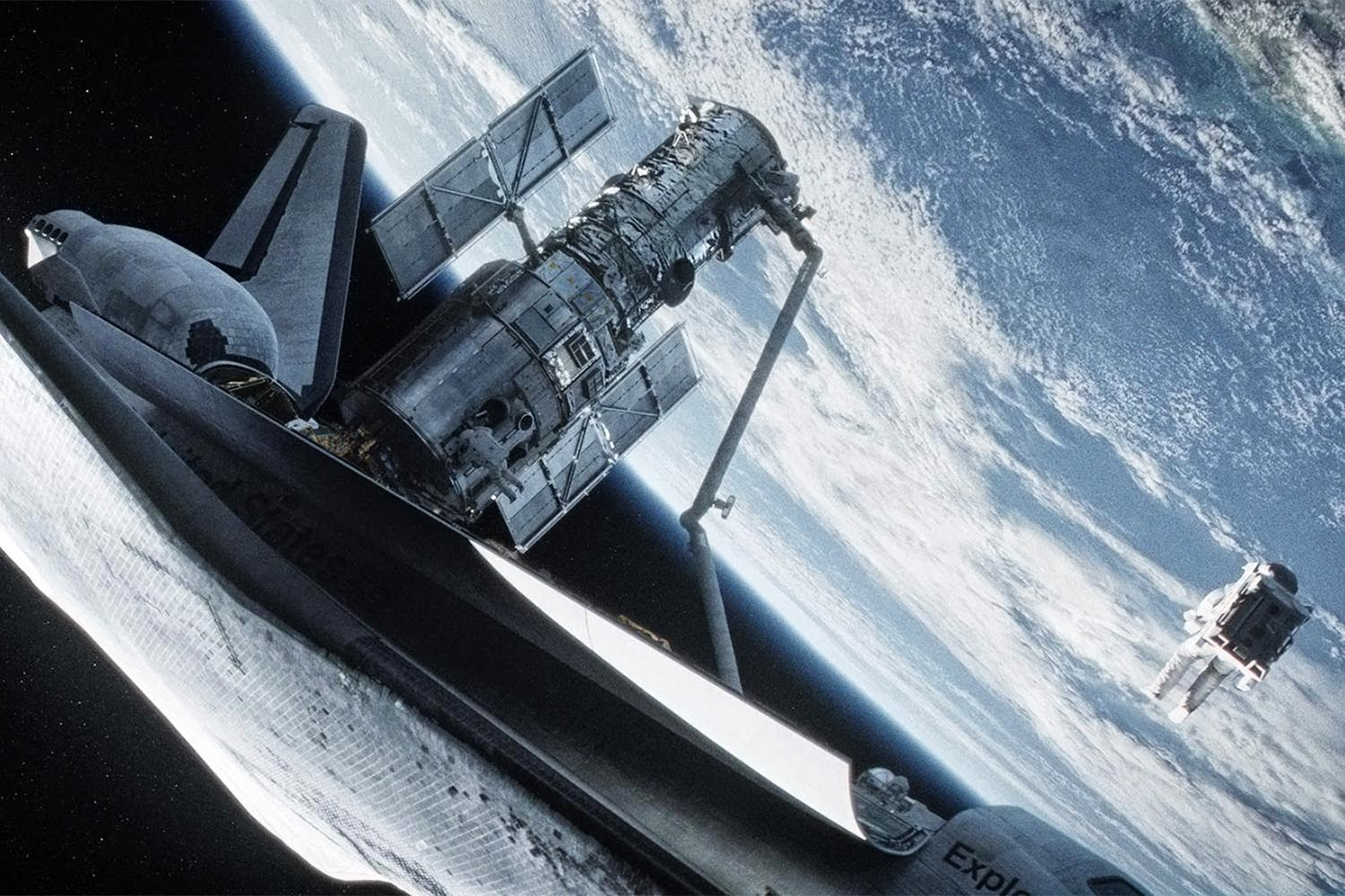 Future War Stories: FWS Movie Review: GRAVITY (2013)