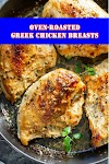 #Oven #Roasted #Greek #Chicken #Breasts