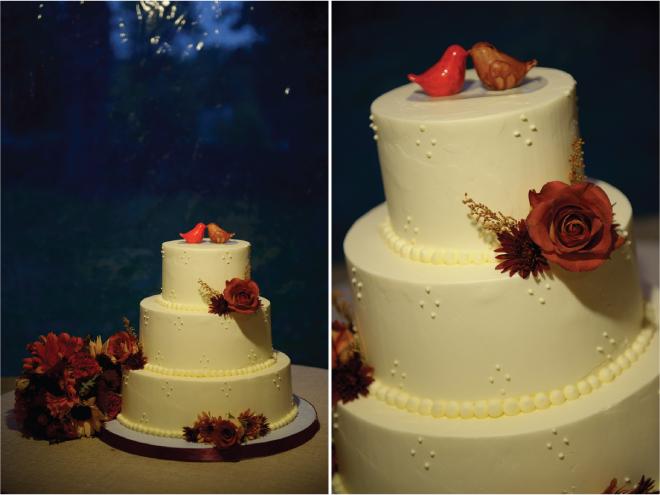 Fall Outdoor Wedding : Rustic Elegance + DIY Details - Belle The ...