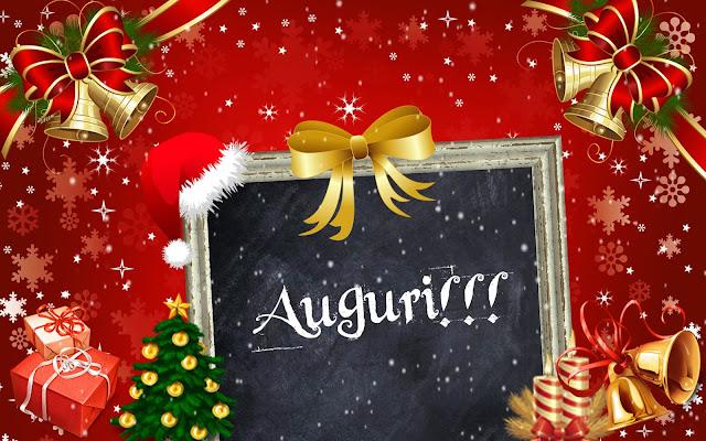 Immagine di una cartolina di Buon Natale e Felice 2016 da parte di Ajò a Pappai!!!