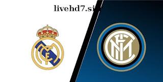 تقديم مباراة انتر ميلان وريال مدريد في بطولة دوري أبطال اوربا بث مباشر اون لاين الاسطورة لبث المباريات HD