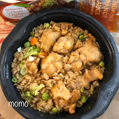 Trader Joe's Mandarin Style Orange Chicken Bowl
