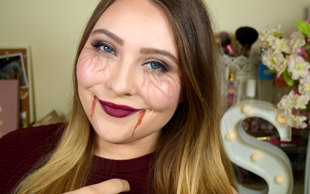 Glam Vampire Halloween Makeup Tutorial