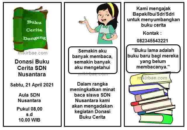 Brosur Buku Cerita