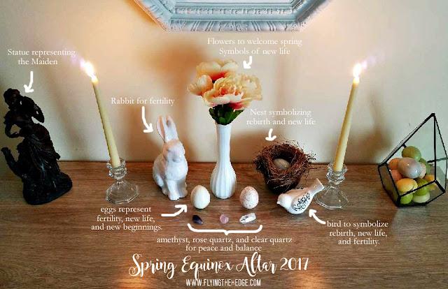 Spring Equinox Altar 2017