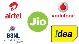 airtel jio vodafone and idea