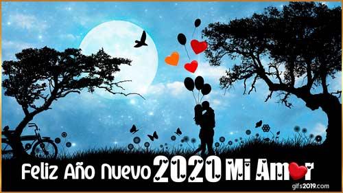 mensaje amor feliz año 2020