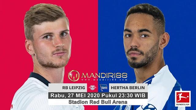 Prediksi RB Leipzig Vs Hertha Berlin, Rabu 27 Mei 2020 Pukul 23.30 WIB @ Mola TV