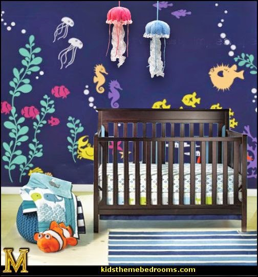 Decorating theme bedrooms - Maries Manor: under the sea