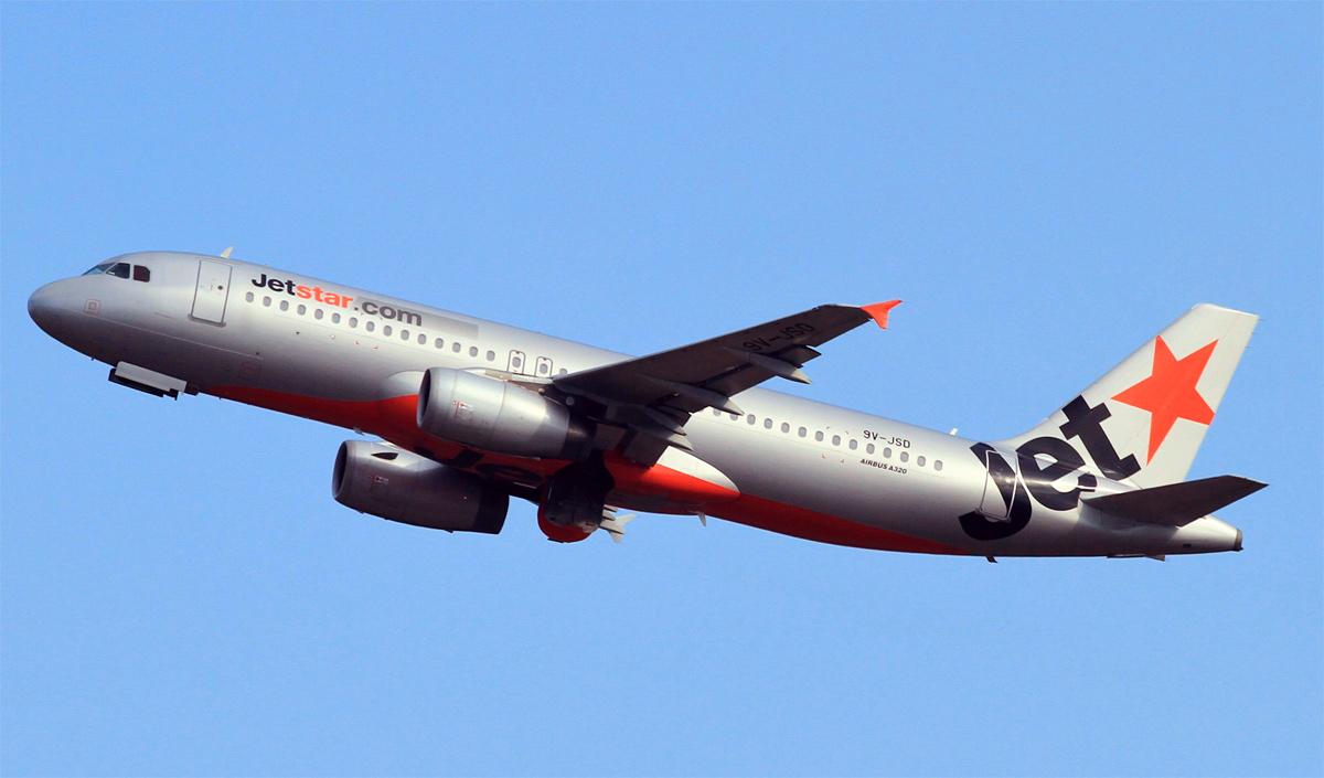 Jetstar Asia Maskapai Paling Tepat Waktu di Singapura dan Nomor Delapan di Dunia