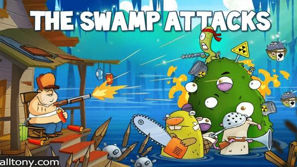 تحميل لعبة هجوم المستنقع Swamp Attack للأيفون والأندرويد APK
